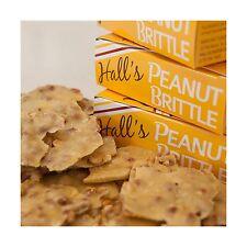 Hall's Peanut Brittle 13 oz Free Shipping