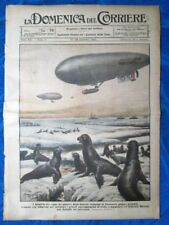 La Domenica del Corriere 19 dicembre 1920 Terranova - Marsiglia - Roma