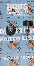 BUICK  pair of 1956 57 Hood to Cowl Bumpers  +our 127 page Buick parts Catalog