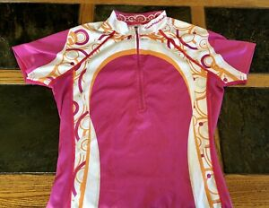 Youth/Women's Cannondale Half-Zip Cycling Jersey in Extra Small (XS)
