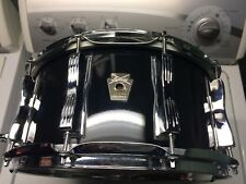 Ludwig Classic Maple 6.5x14 10 lug snare drum has stress crack on inner ply