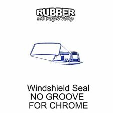 1948 1949 1950 1951 1952 Ford Truck Windshield Seal - No Groove for Chrome