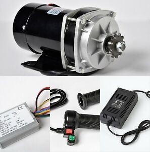 1000W 48V GEAR Reduction electric motor+Reverse Controller+Throttle 3sp+Charger