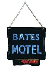 Official Psycho Movie Bates Motel Light-Up Sign Halloween Decoration