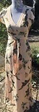 Hoss Intropia Beautiful Maxi Dress Size 36 Gorgeous Butterfly's
