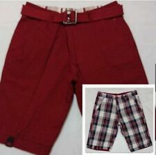 RIVERSIBLE SHORT Red Size 28 to 34