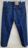 Vintage Levi's Button Fly 501 Jeans 501xx Made In USA 40 X 34 Measure 37 X 31