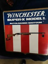 Winchester Super-X Model 1 Autoloading Shotgun Store Display Gun Holder Rack