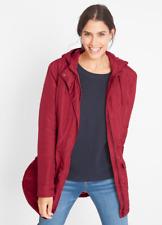BPC Bonprix Sustainable Red Padded Parka Jacket Coat Size 18 NEW