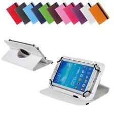 Universal 360° 7 Zoll Tablet Tasche Cover Etui für Telekom Tablet Puls, Weiß