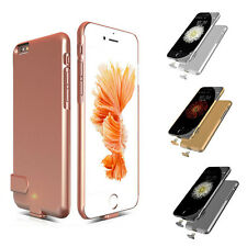Slim External Backup Power Bank Battery Charger Case Cover For iPhone 7 6S Plus