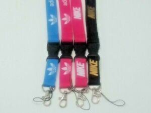 Nike Adidas Lanyard Detachable Keychain Badge ID Holder