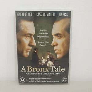 A Bronx Tale DVD (1993) Robert De Niro, Crime Drama Gangster Film, Free Postage