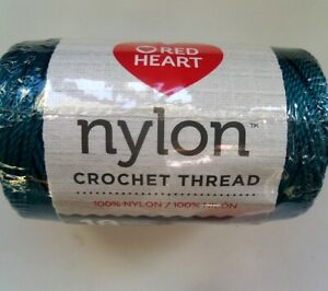 Nylon Thread   Red Heart  Size 18  150 Yards.  Crochet & Crafts  Choose Color