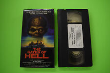The Gates of Hell VHS Creature Features Rare OOP Horror Zombie