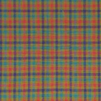 BY THE YARD HOMESPUN #981 100% Cotton Dyed Woven Olive Red Blue NEW COLOR!