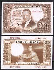 ESPAÑA  100 PESETAS 1953 R. DE TORRES Pick 145    EBC+  XF+