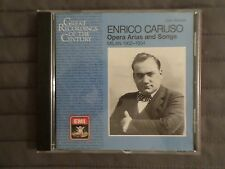 Opera Arias And Songs Milan 1902-1904 By Enrico Caruso (CD, 1988) Import UK