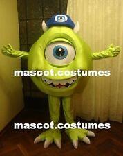 "New Monsters inc Mascot Costume Character Sz. 5' 10"" Mike Professional Mascot!"