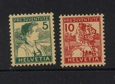 Switzerland  B2,B3  Mint   catalog  $103.00