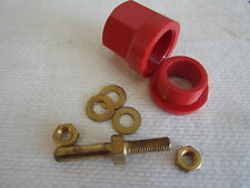 SUPERIOR PIN RECEPTACLE RP100GR 100A (RED) - NOS