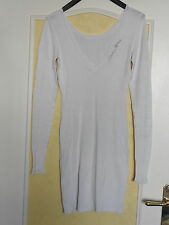 ROBE PULL  * GUESS * taille TU - 34/36/38  COULEUR BLANC