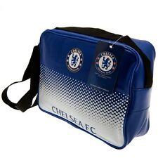 Chelsea FC FADE Design Messenger Borsa pranzo Box Office NUOVO REGALO NATALE