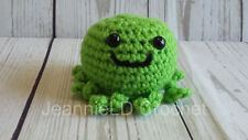 Handmade Crochet Mini Octopus/Octopod Decoration / Toy / Photo Prop - Green