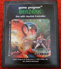 Atari 2600. Berzerk (Picture Label)