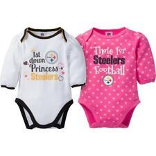 Pittsburgh Steelers Girl Baby Body suit Infant Creeper Onsie 2pc Set