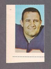 1969 Glendale Stamps Ron McDole, Buffalo Bills