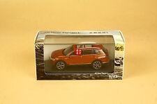 1/43 2017 Volkswagen All new Tiguan L orange-red color diecast model