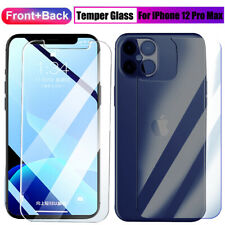 Front+Rear Back Temper Glass Screen Film Protector for iPhone 12 Pro Max Mini 5G