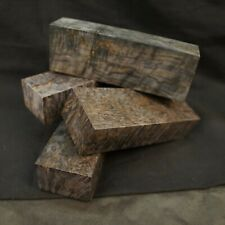 KARELIAN BIRCH Stabilized Wood Blank, GREY Color for woodworking, from France