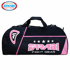 Farabi Holdall Bag Gym Sports BackPack Duffle Large Luggage Bags Pink