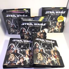 Official Star Wars Fact File Collection by DeAgostini Loads Of Files Good Cond