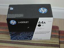 HP GENUINE 64A BLACK TONER CARTRIDGE- BOXED SEALED P/N CC364A  = £100 +VAT