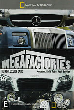National Geographic - Megafactories - Euro Luxury Cars (DVD, 1920)