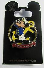 Disney Pin 93674 DCL Disney Cruise Line Captain Mickey Mouse Pin