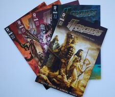 "Hercules (Radiant Publishing) ""The Thracian Wars"" #1, 2b, 3,4,5b! (2008) VF/NM!"