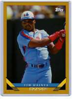 Tim Raines 2019 Topps Archives 5x7 Gold #220 /10 Expos