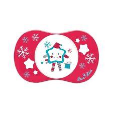 Luc et léa sucette silicone Ecition spécial Noël fête +6m