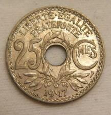 France 1917 25 Centimes KM 867a Brilliant Uncirculated