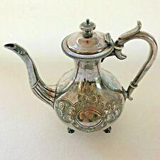 Verseuse en métal argenté Maison Armand Frenais théière thé café cofee
