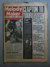 MELODY MAKER 17th July 1976 ~ Eric Clapton ~ Steve Hillage ~ Violence in Rock!