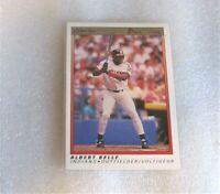 1991 O-PEE-CHEE PREMIER ALBERT BELLE BASEBALL CARD! #8 (NM - RC - OPC)