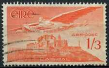 Ireland 1948-65 SG#143a 1s3d Red-Orange Air Used #D81882