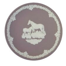 Wedgwood 1981 Mother's Day Plate 6 1/2 Inches with Mare and Foal. Includes box