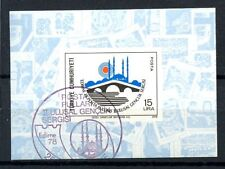 Turkey 1978 SG#MS2638 Edirne Youth Philatelic Exhibition Cto Used M/S #A35768