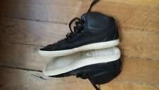 Baskets LE COQ SPORTIF Provencale Mid Lea Black taille 41 Chaussures noir homme
